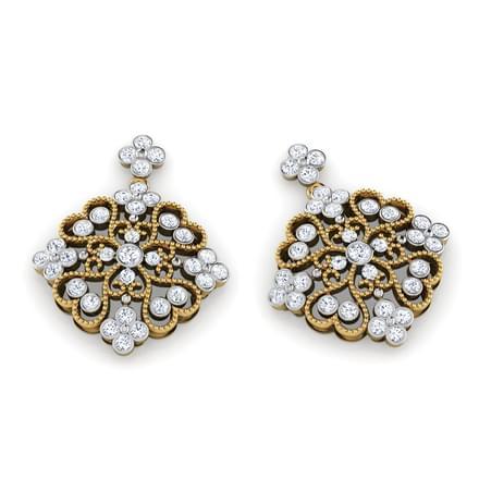 Caroline Victorian Drop Earrings