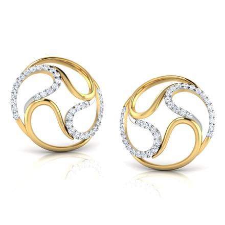 Femi Flurry Paisley Stud Earrings