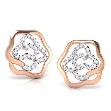 Muddle Rose Stud Earrings