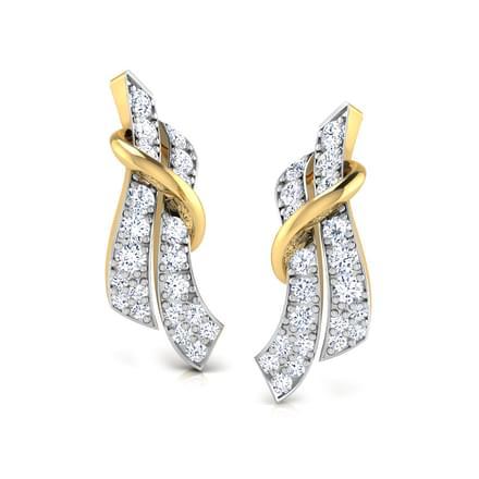 Cindy Twined Stud Earrings
