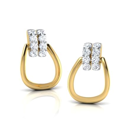 Aine Knotted Stud Earrings