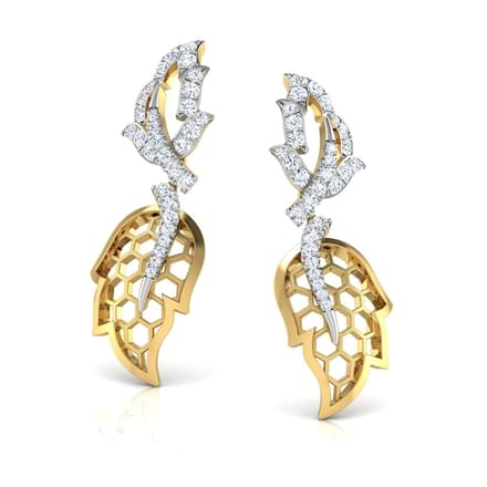 Ilona Maple Leaf Drop Earrings