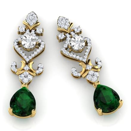 Eloise Royal Drop Earrings