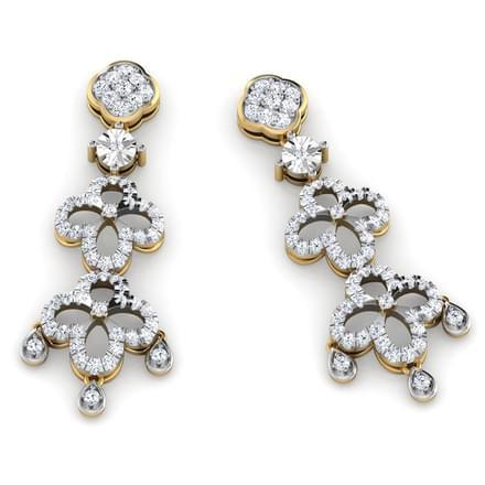 Hazel Royal Epoch Drop Earrings