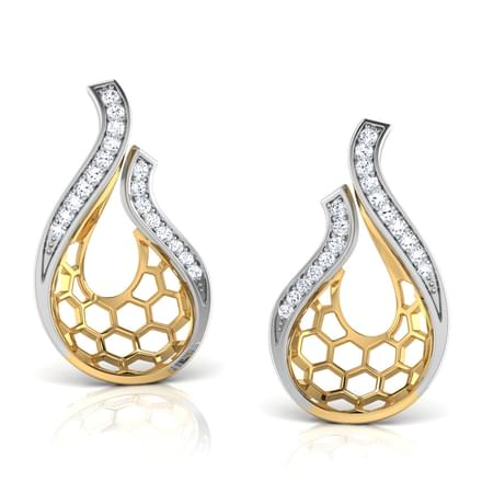 Nila Dancing Drop Stud Earrings