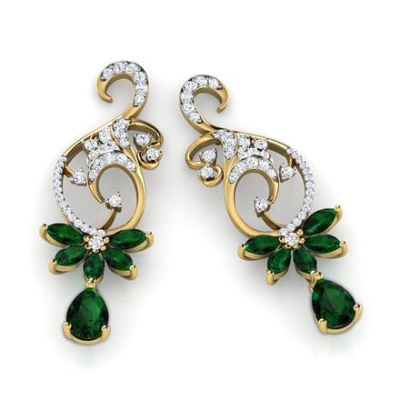 Clara Wreath Drop Earrings