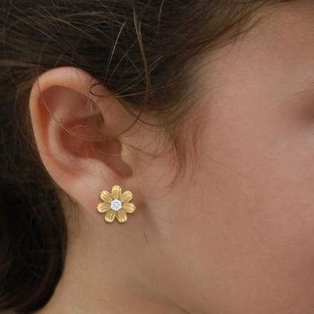 Possy Floral Stud Earrings
