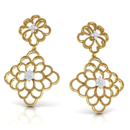 Ayla Bloom Drop Earrings