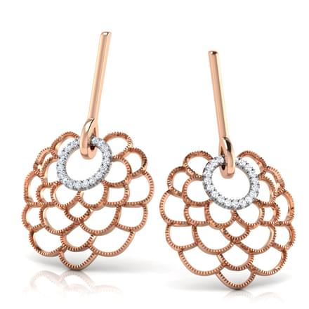Jessy Bloom Drop Earrings