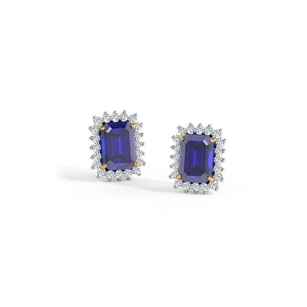 Azure Elegance Stud Earrings