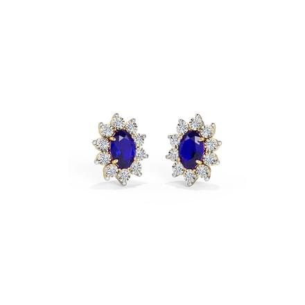 Haze Royal Stud Earrings