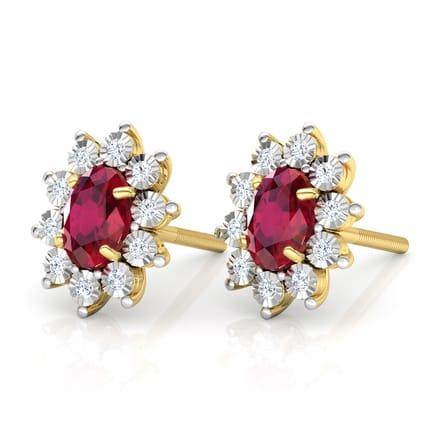 919803369 Haze Royal Stud Earrings Jewellery India Online - CaratLane.com