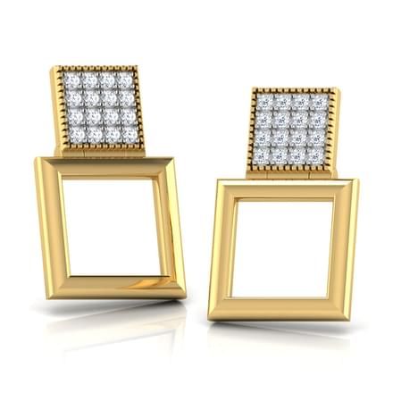 Nino Cubed Stud Earrings
