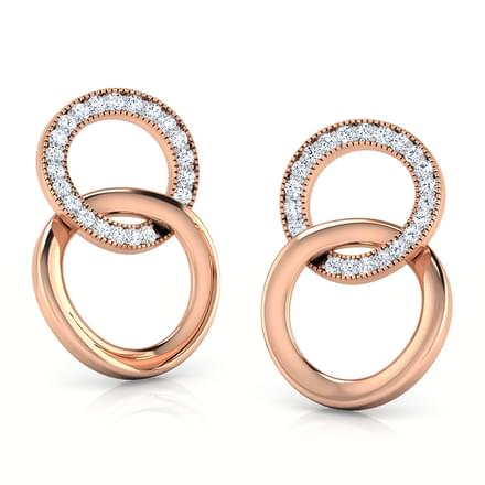 Cirilla Looped Stud Earrings