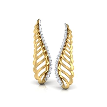 Wavy Love Ear Cuffs