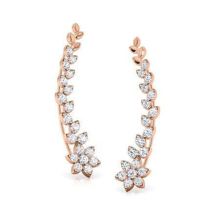 Blush Abida Star Ear Cuffs