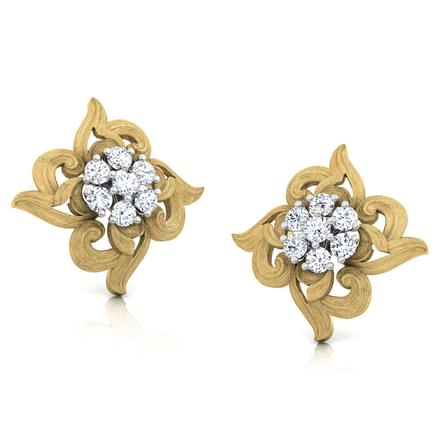 Cluster Spread Stud Earrings