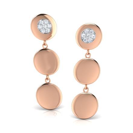 Janie Stamped Drop Earrings