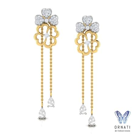 Bouquet Elegance Drop Earrings