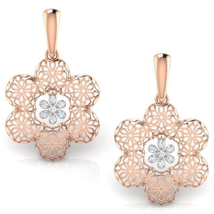 Tress Trellis Drop Earrings