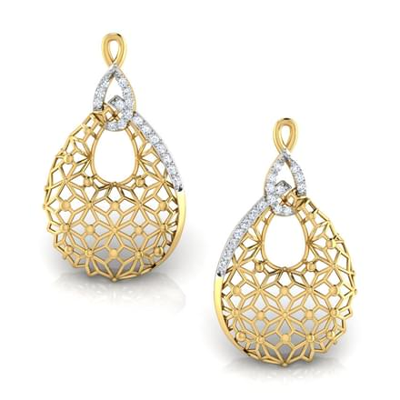 Kim Trellis Stud Earrings