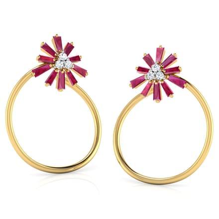 Scintilla in Circlet Stud Earrings