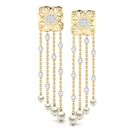 Kylie Layered Drop Earrings