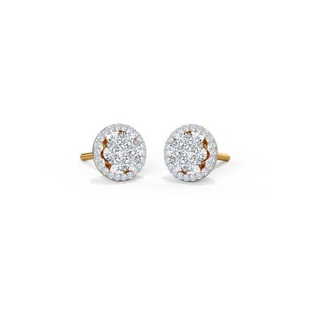 753f51d6c Adele Seven Stone Stud Earrings Jewellery India Online - CaratLane.com