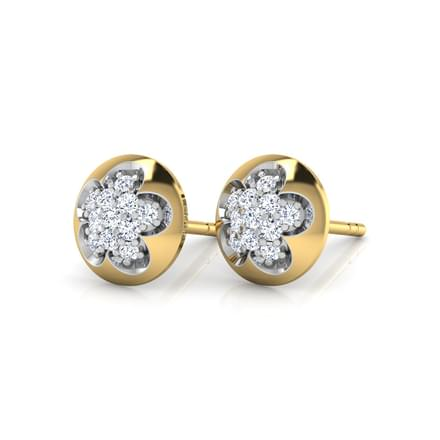 Floret Cluster Stud Earrings