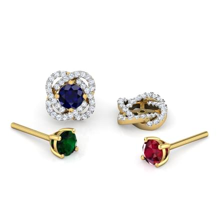 Bloom Multi-Style Stud Earrings