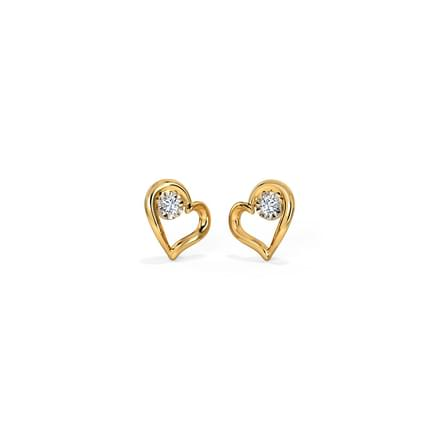 In Love Miracle Plate Stud Earrings