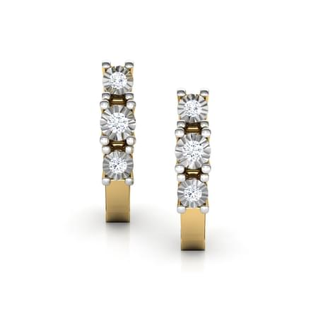 Linear Miracle Plate Earrings