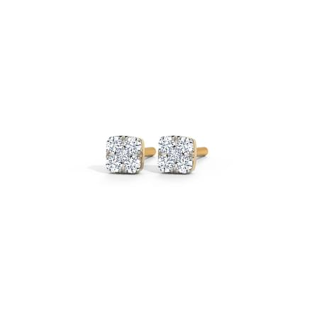 Petite Quad Stud Earrings