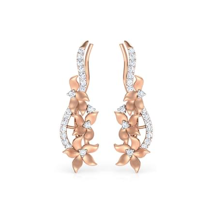 Jonquille Floral Ear Cuffs