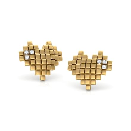 You Captured My Heart Stud Earrings