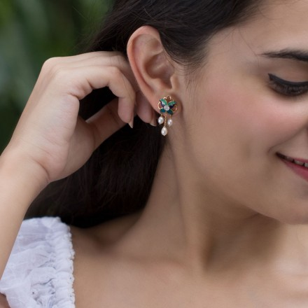 Aamira Iris Drop Earrings