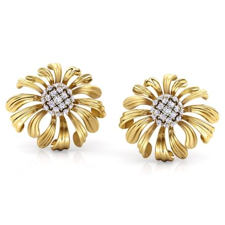 Aster Bloom Stud Earrings