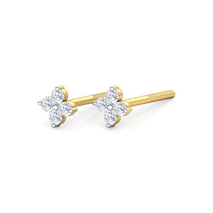 Petite Floret Stud Earrings
