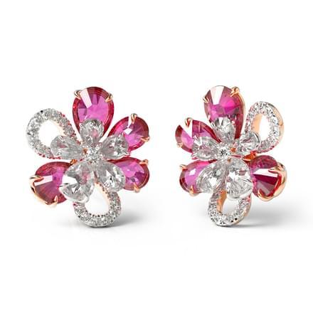 903cdde1b Inaya Bloom Stud Earrings Jewellery India Online - CaratLane.com