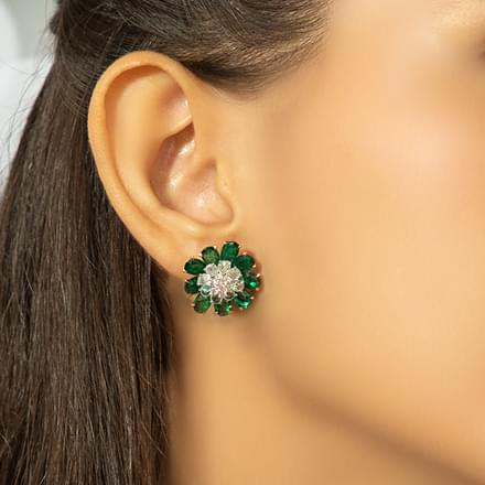 Zoha Bloom Stud Earrings