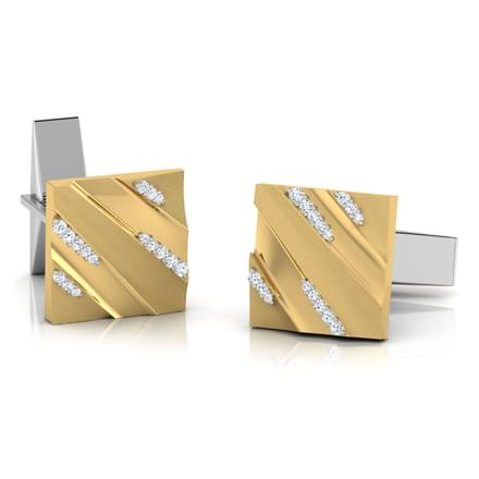 Curt Gold and Silver Cufflinks