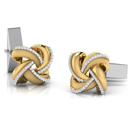 Ryan Gold and Silver Cufflinks
