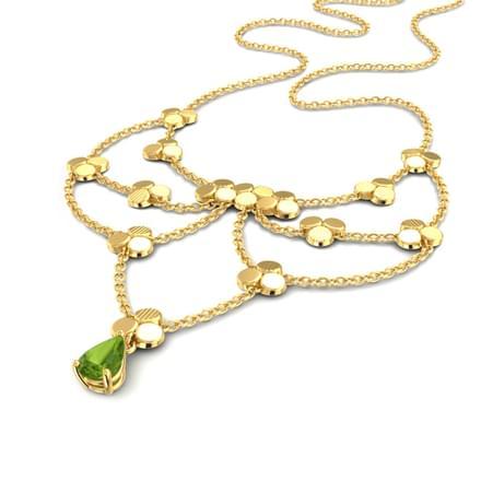 Linked Bloom Necklace