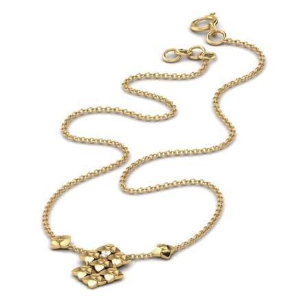 Speckled Floral Necklace
