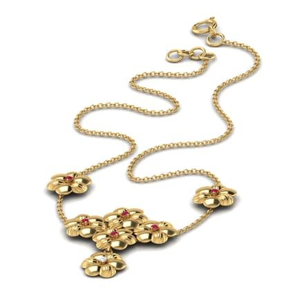 Blossom Ruby Necklace