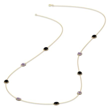 Asfour Pebble Necklace