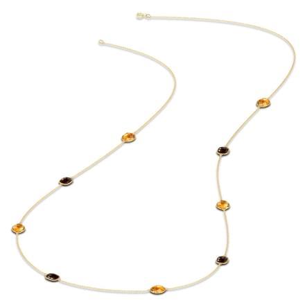Classy Gemstone Necklace