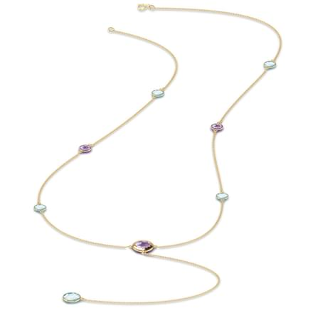 Grace gemstone necklace