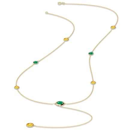 Grace gemstone necklace