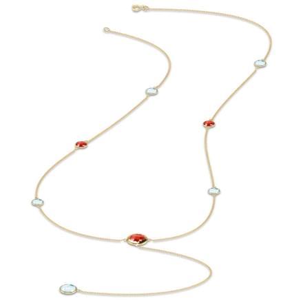 Solstice Pebble Necklace